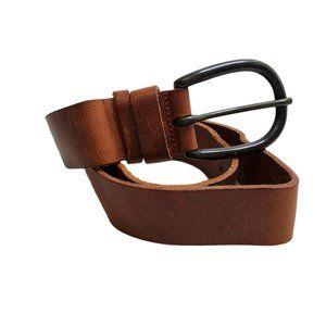 Banana Republic Belt XS Italy Leather Brown Tan S